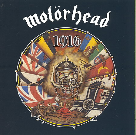 1916 BY MOTORHEAD (CD)